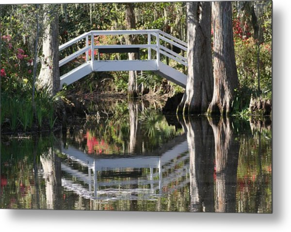 Reflection's Of Spring Metal Print
