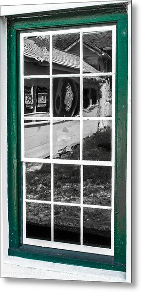 Reflections Of The Past Metal Print