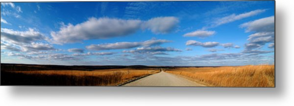 Relaxing Drive Metal Print