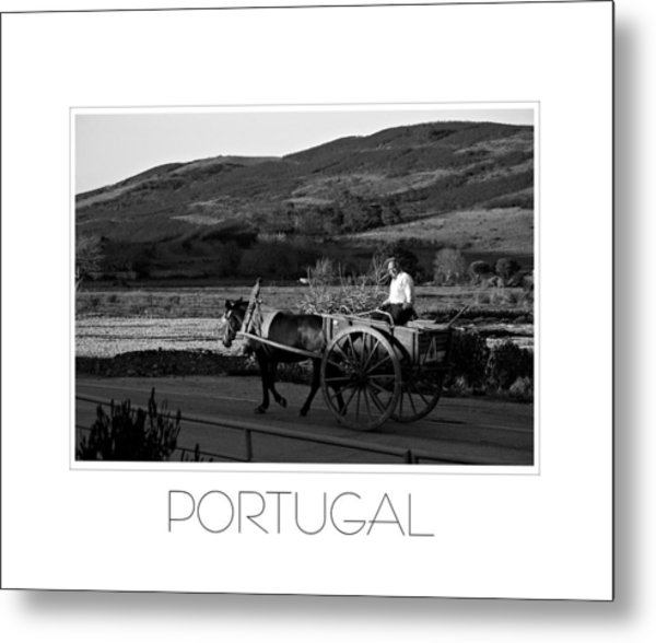 Remains Of The Day Portugal Metal Print