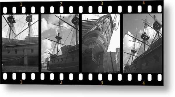 Remember This Boat Metal Print