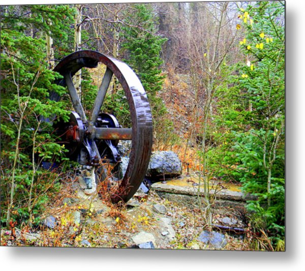 Remnants Of The Past Metal Print by Jessica Duede