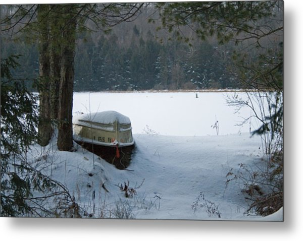 Resting For The Season Metal Print
