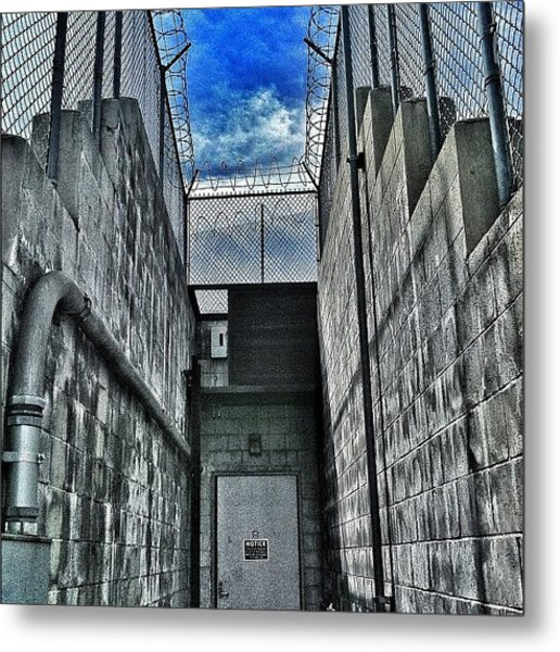 Restricted Access. #art #street #style Metal Print