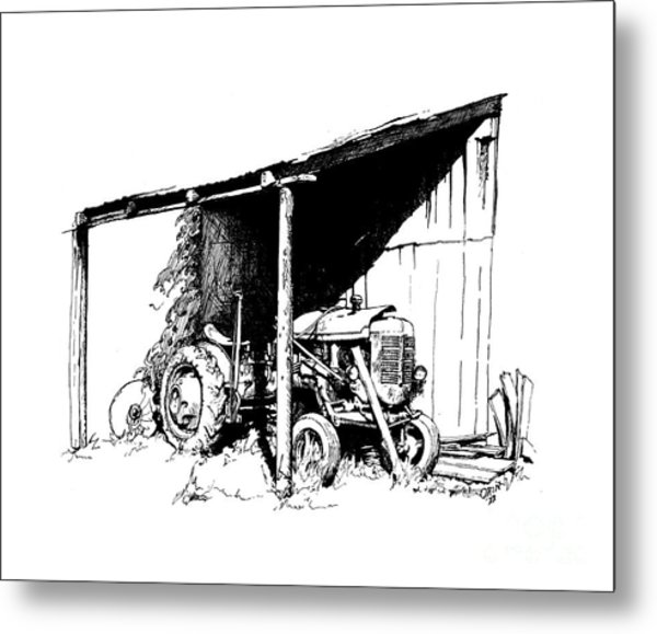 Replacement Pen And Ink Metal Print by Steve Orin
