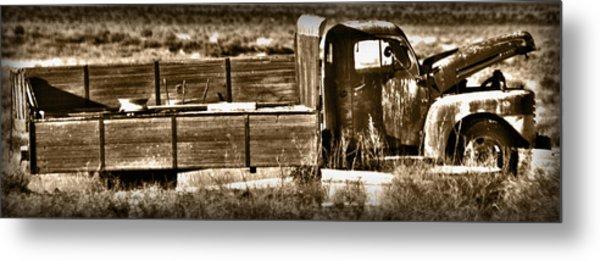 Retired Truck Metal Print