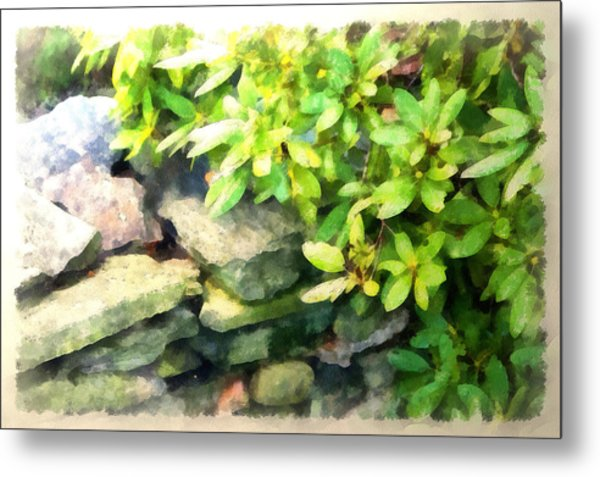 Rhodas And Stones Metal Print