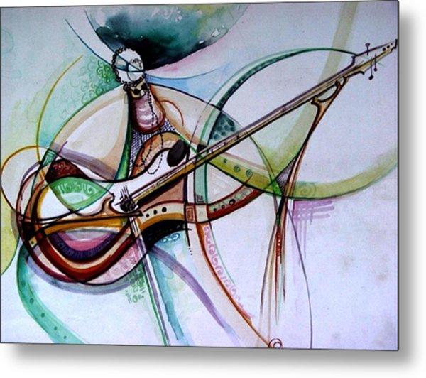 Rhythm Of The Strings Metal Print
