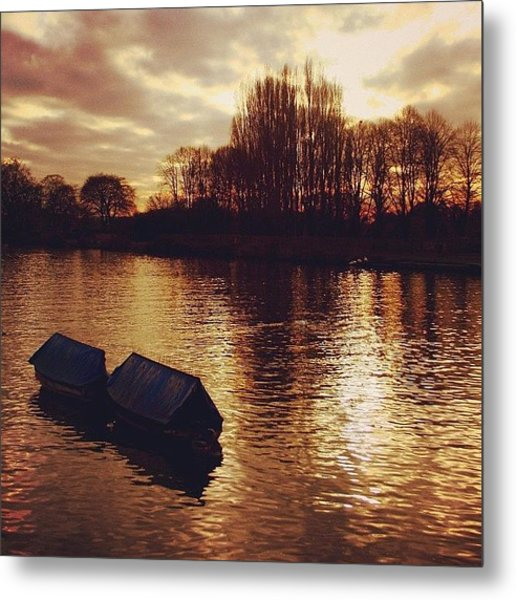 #richmond #london Metal Print