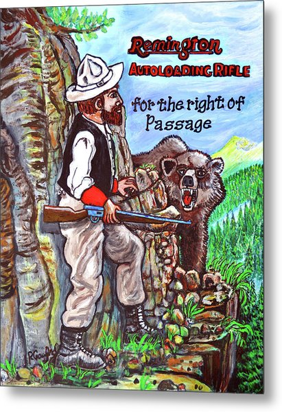 Right Of Passage Metal Print by Bob Crawford