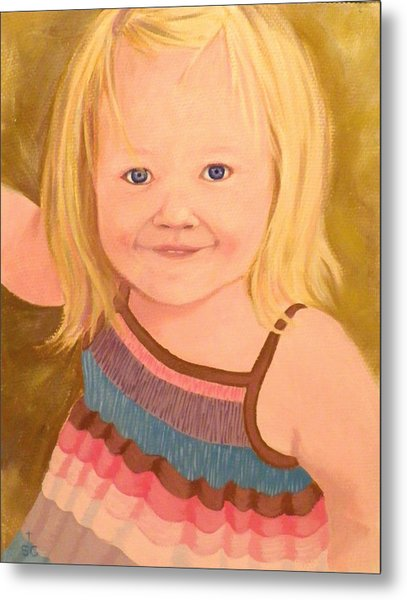 Riley Metal Print