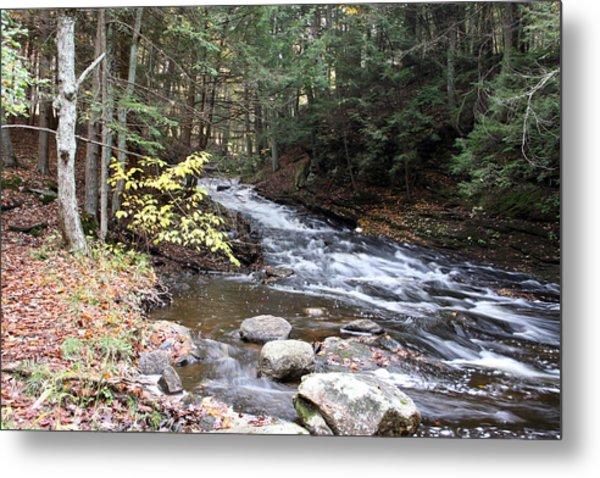 River Below Falls 3 Metal Print