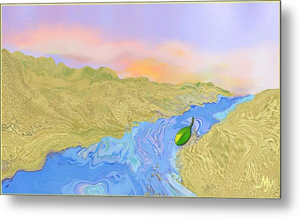 River To The Sea Metal Print