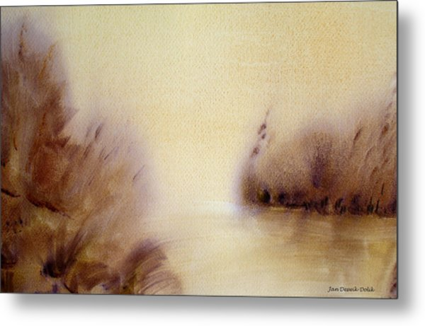 Riverbend Metal Print by Jan Deswik