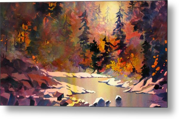 Riverglow Metal Print