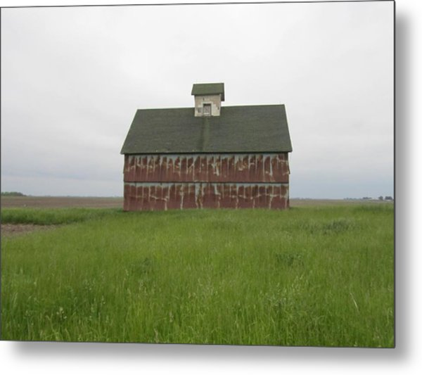 Road To Champaign-2 Metal Print by Todd Sherlock