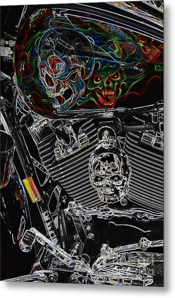 Road Warrior Metal Print