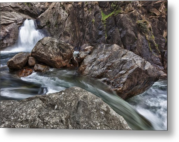 Roaring River Falls Metal Print by A A