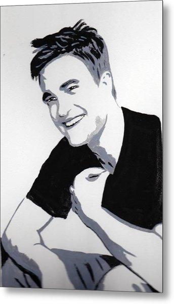 Robert Pattinson 1 Metal Print