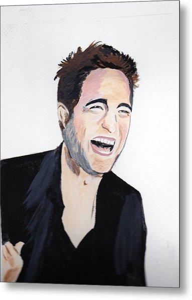 Robert Pattinson 4 Metal Print