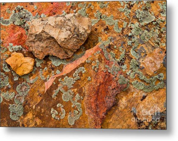 Rock Abstract IIi Metal Print