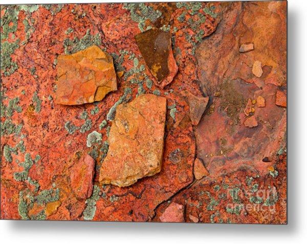 Rock Abstract Iv Metal Print