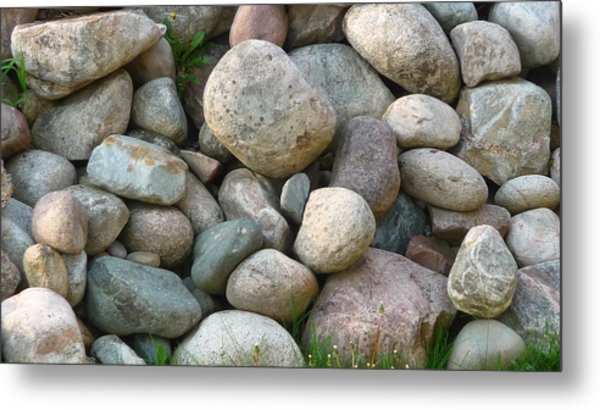 Rock Collection Metal Print by Michael Carrothers