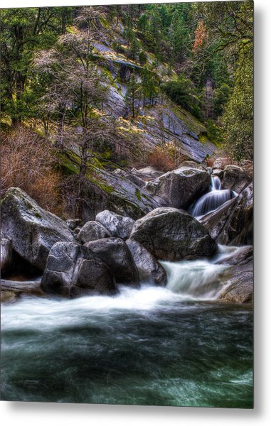 Rock Creek Metal Print by Ren Alber