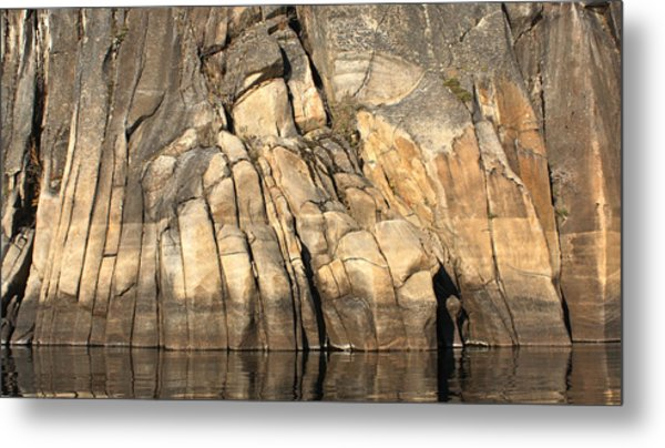 Rock Paws Metal Print