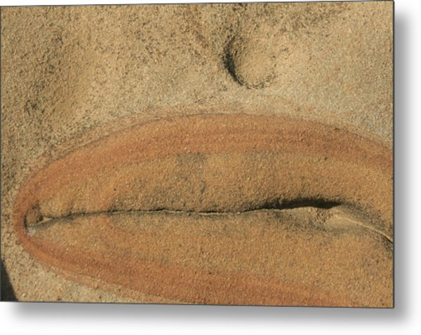 Rock Sculpture Metal Print