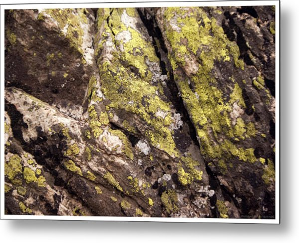 Rock Wall 1 Metal Print by Mark Ivins