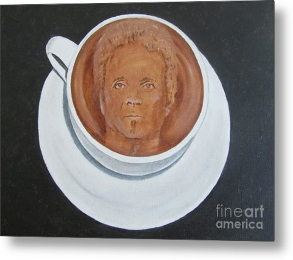 Rockin'coffee Metal Print