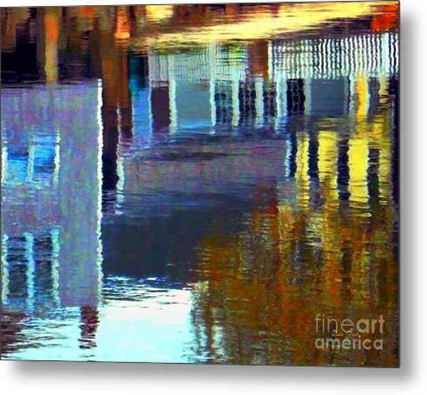 Rockport Reflections Metal Print