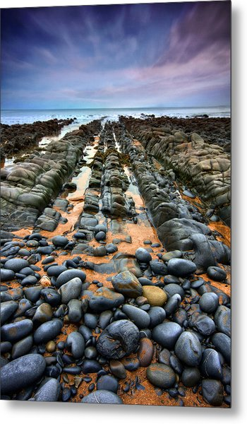 Rocky Road To Nowhere Metal Print by Mark Leader