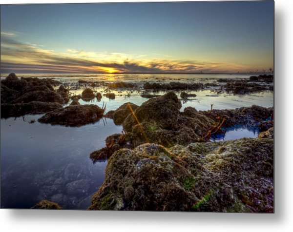 Rocky Sunset Metal Print by Brian Leon