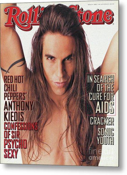 Rolling Stone Cover - Volume #679 - 4/7/1994 - Anthony Kiedis Metal Print