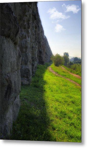 Roman Aqueducts Metal Print