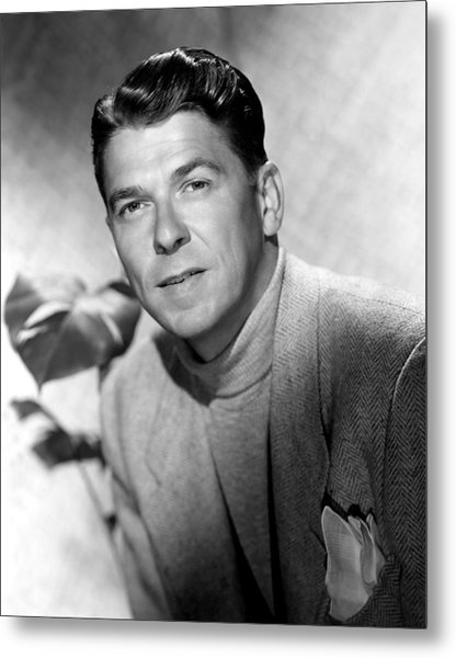 Ronald Reagan, 1950 Metal Print by Everett