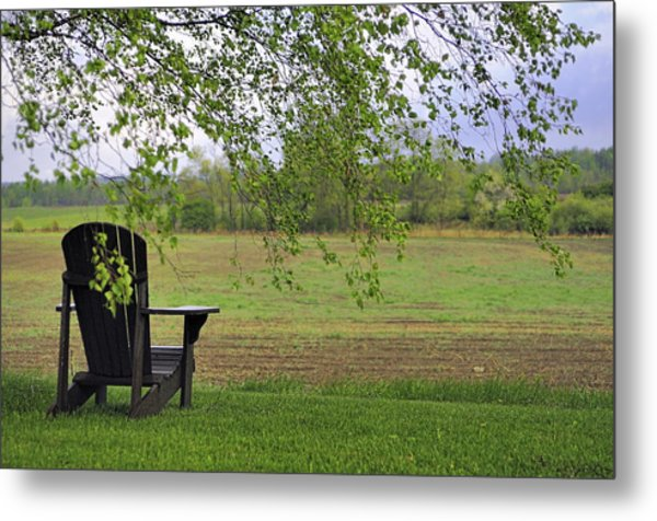Room With A View Metal Print by Alan Norsworthy