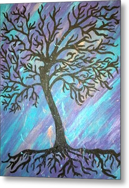 Roots To A New Beginning Metal Print by Alisha Harrison