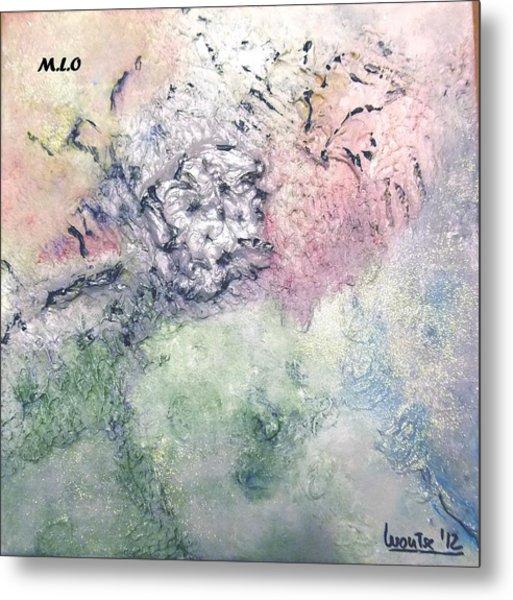 Rose Metal Print by Montserrat Lopez Ortiz