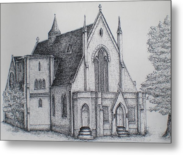 Rosemount Parish Church Metal Print