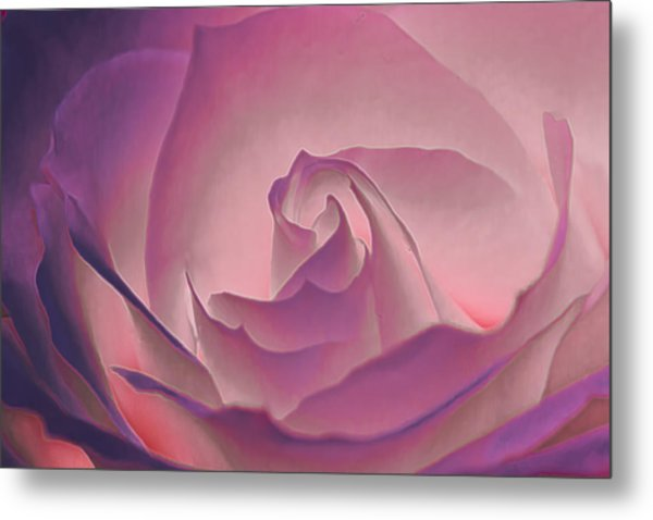 Rosy Daydreamer Metal Print