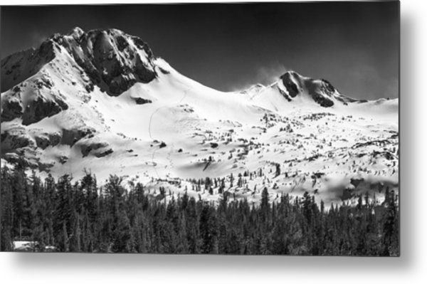 Round Top Mountain Metal Print by A A