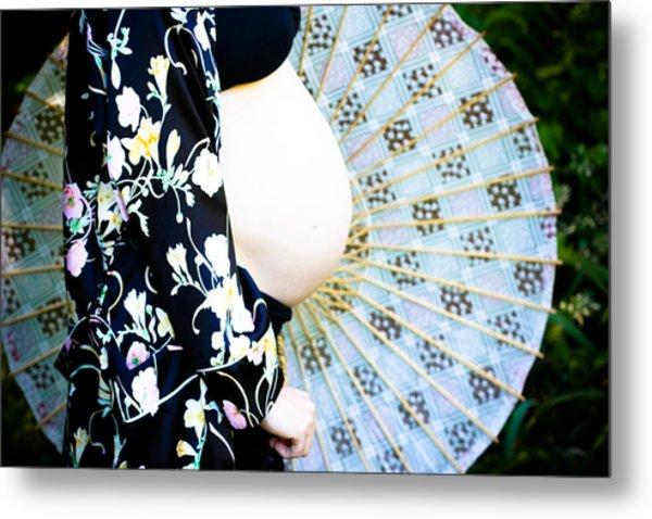 Rounds Metal Print by Denice Breaux