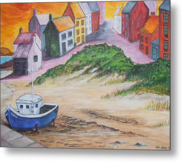 Roundstone Harbour  Metal Print by Siobhan Lawson