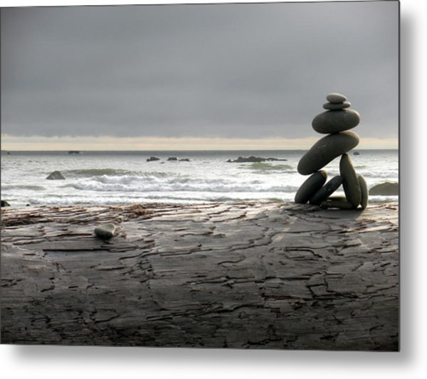 Ruby Beach 1 Metal Print by Fred Russell