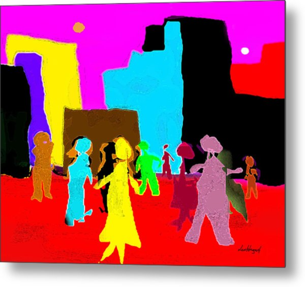 Rush Hour 2 Metal Print