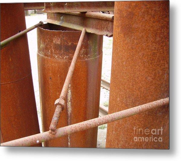 Rust Metal Print by Phillip Steele