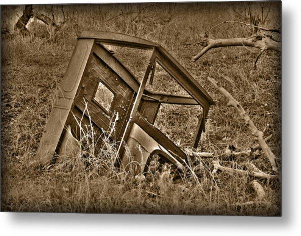 Rusting Away Metal Print
